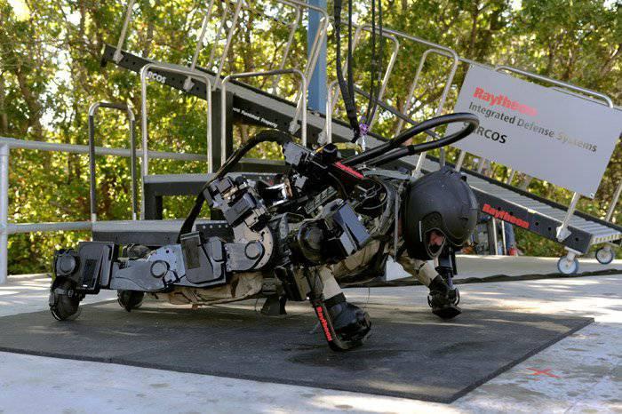 Пентагон готовит легкий эксзоскелет для пехотных частей