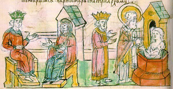 """यूनानियों में """"आइडिया ओल्गा।"""" ओल्गा के शासनकाल के दौरान रूसी-बीजान्टिन संबंध"""