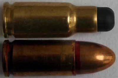 Hafif makineli tüfek CBJ-MS ve 6,5-x mm mermi ile 25х4 kartuşu