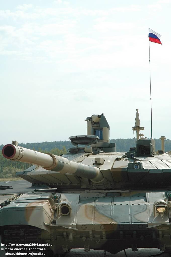 Tanque T-90MS: Análisis de las principales características y posibles formas de mejorar aún más las cualidades de combate