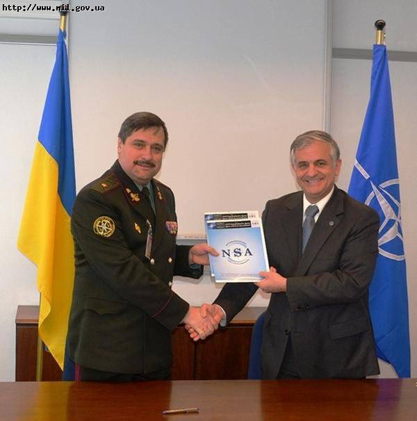 A roadmap on the areas of cooperation of the Armed Forces of Ukraine with the NATO Standardization Agency was signed