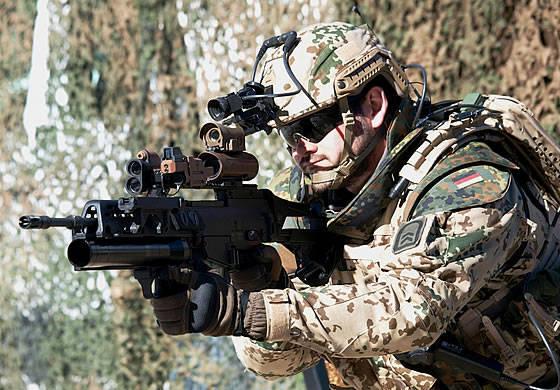 """Las Fuerzas Armadas de Alemania entregaron los primeros equipos individuales de un soldado """"Gladius"""""""