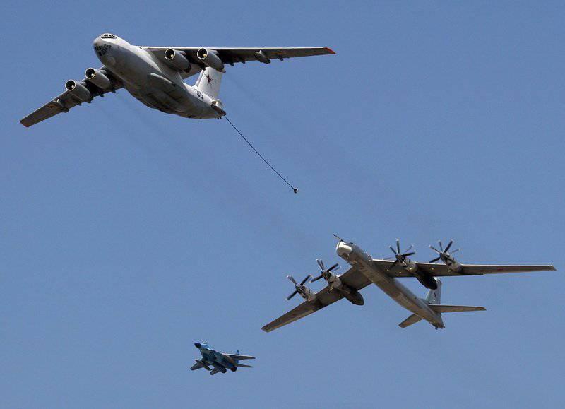 """Las fuerzas aéreas rusas van a mejorar la flota de """"petroleros voladores"""""""