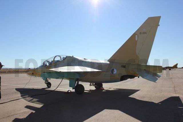 Fotos de Argelia Yak-130