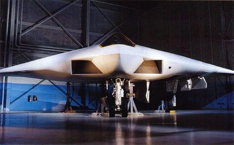 A-12アベンジャーII攻撃機。 失敗のために7,5億