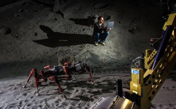 चंद्रमा का पता लगाने के लिए जर्मन रोबोट