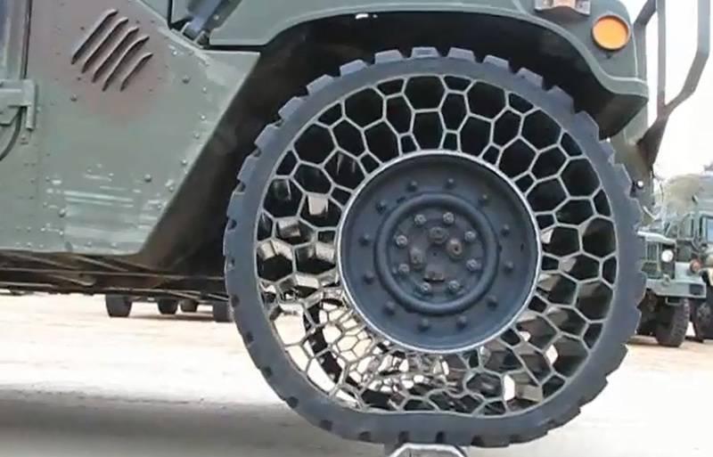 Nuevas soluciones para neumáticos de equipos militares.