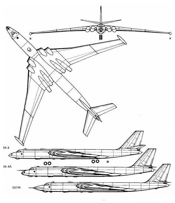 В-52 создавался как высотный бомбардировщик для атак с использованием свободнопадаю- щих ядерных бомб.