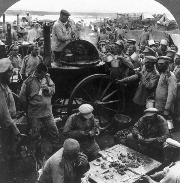 Comment les soldats russes ont été nourris dans l'armée royale