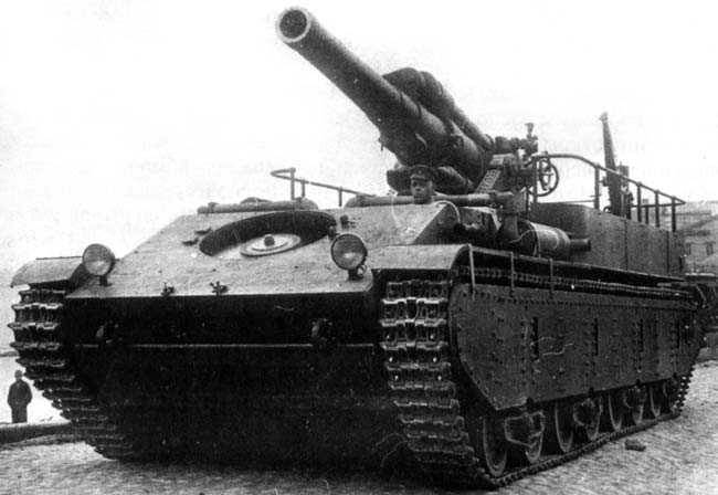 Heavy automotor SU-14