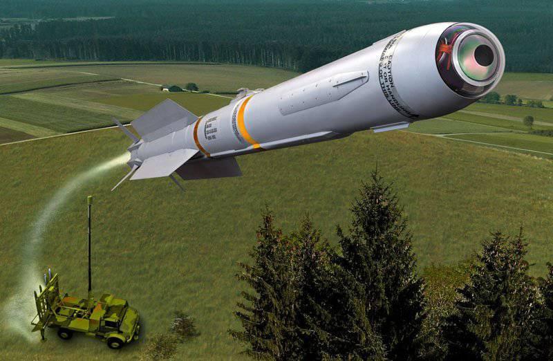 विमान भेदी मिसाइल प्रणाली IRIS-T SLS