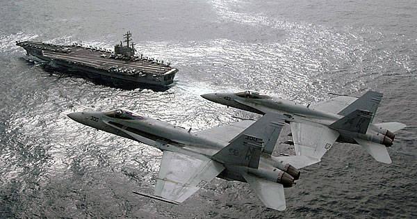 Суперавианосцы в современной военно-морской стратегии США