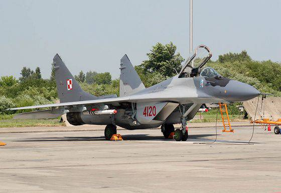 Flight tests of the first modernized MiG-29 Polish Air Force began