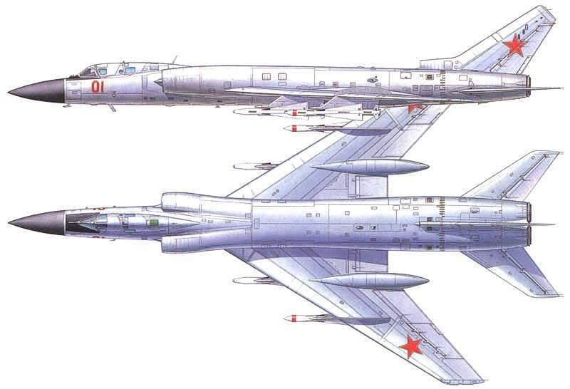 Intercepteur de patrouille à longue portée Tu-128 (partie de 3) Fonctionnement et application