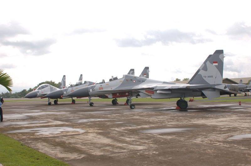 इंडोनेशिया अतिरिक्त सुखोई लड़ाकू विमानों को खरीदेगा