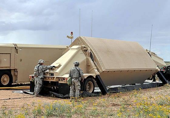 """""""Reyteon"""" şirketi ABD silahlı kuvvetlerine sekizinci radar AN / TPY-2'i verdi."""