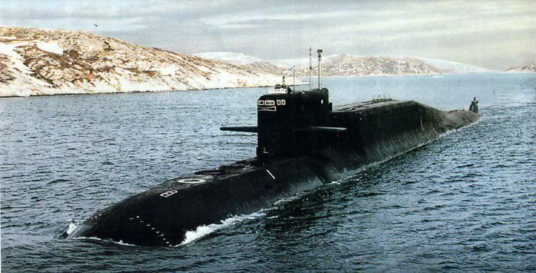 """Подводные лодки проекта 667БДРМ  """"Дельфин """" - серия советских атомных подводных лодок, изначально вооружённых..."""