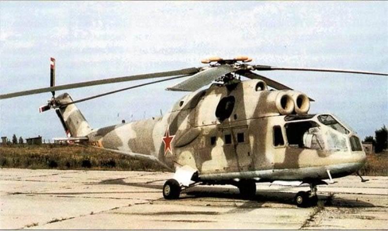 전설적인 전투 헬기 Mi-40 (24 부분) 2 년 수정 A, B 및 D