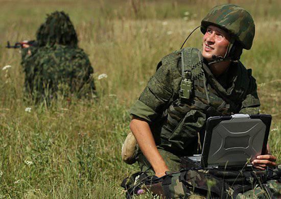 Les opérateurs de transmissions du district militaire sud développent les stations de communication par satellite de la génération 5, Belozer