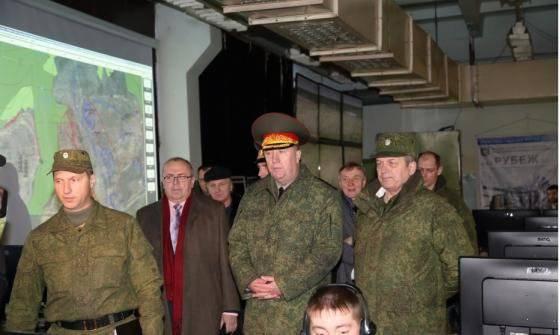Tverで、SVの戦闘訓練の有望な中心のための装置のプロトタイプを実演しました