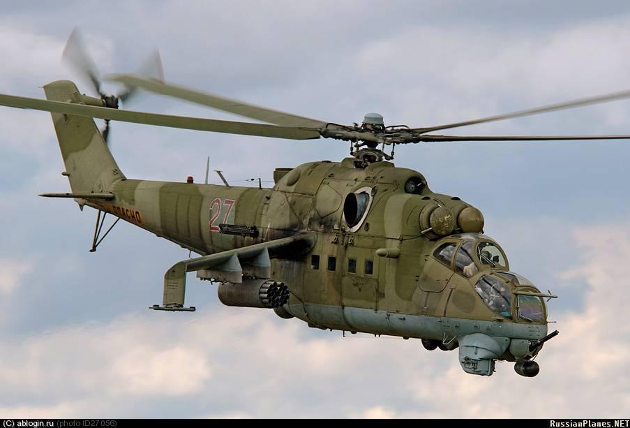 Ми-24 - «крокодил» с острыми зубами