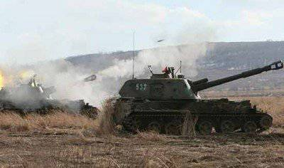 Field exercises of artillery units are held in the Chechen Republic