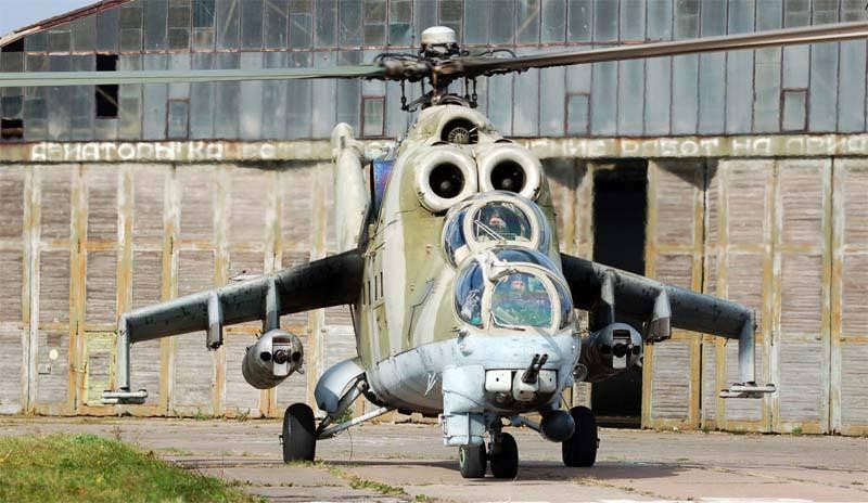 40 años del legendario helicóptero de combate Mi-24 (parte de 4) Modificaciones P y VP
