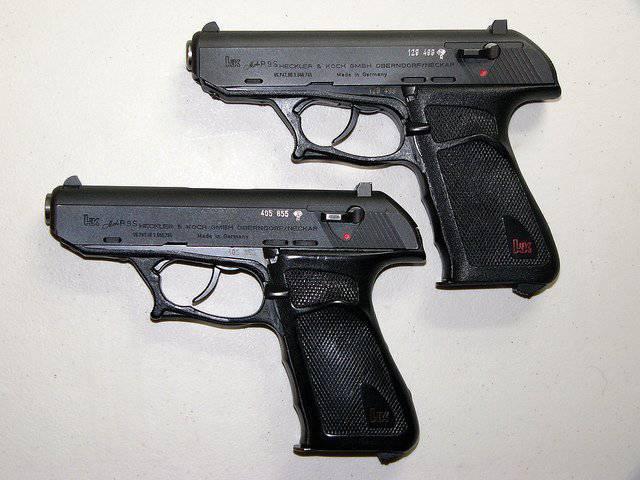 H & K P9 및 P9S 하프 프리 권총