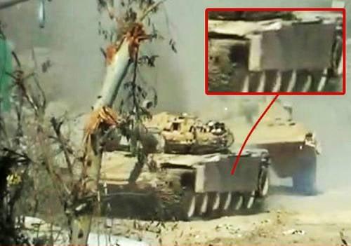 Les Syriens ont créé une nouvelle défense pour leur T-72