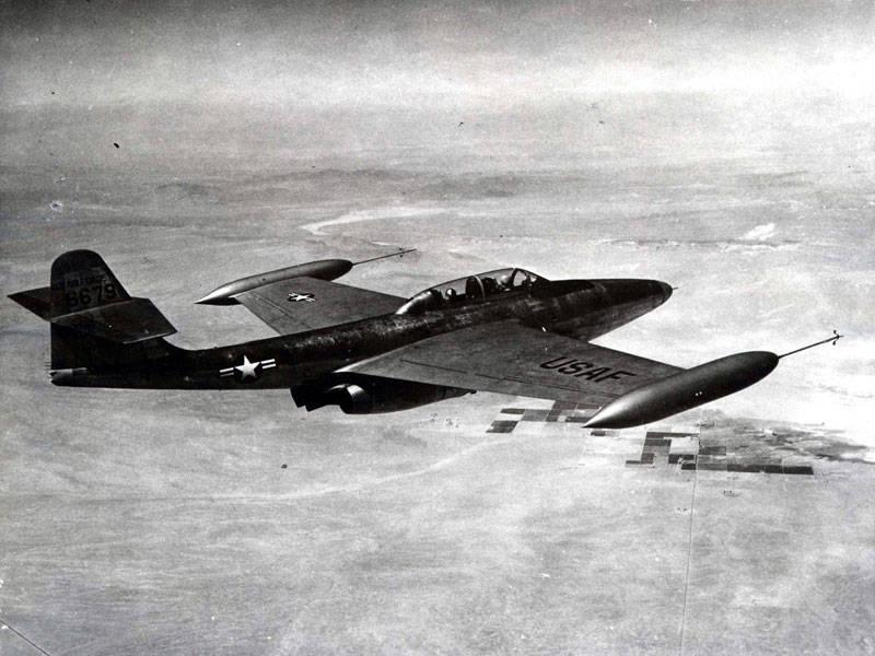 Northrop F-89 Scorpion American Fighter Interceptor (partie 2) Test et utilisation