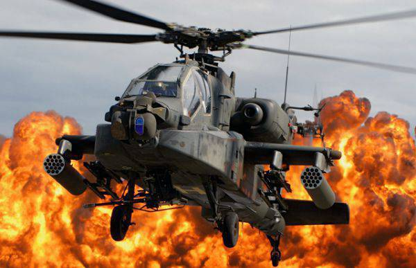 """The Pentagon suspends purchases of new """"Apache"""""""