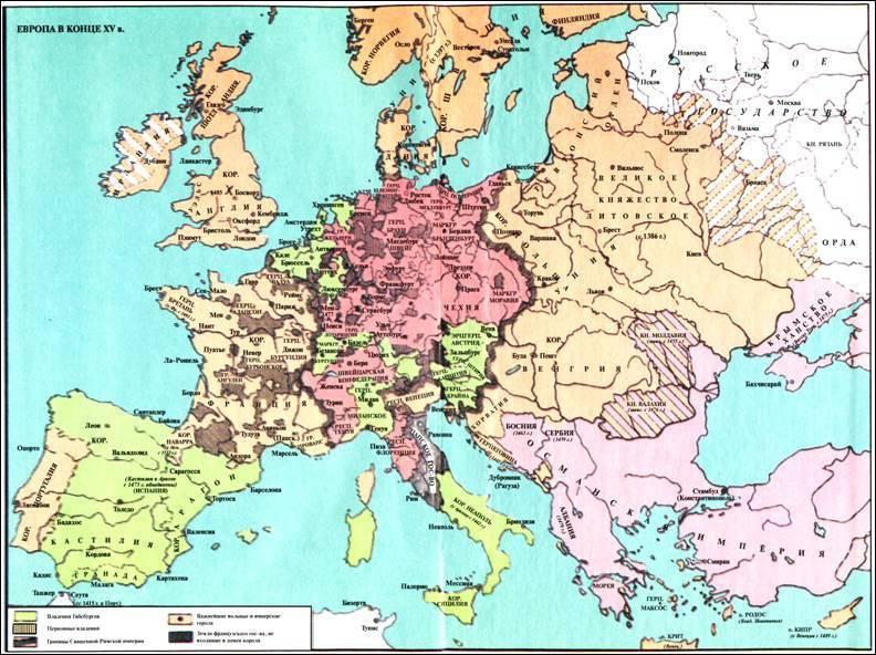 """उनकी नैतिकता। XV में """"प्रबुद्ध"""" यूरोप - XVI सदियों।"""
