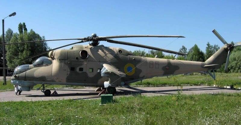 40 वर्षों के लिए दिग्गज Mi-24 लड़ाकू हेलीकॉप्टर (6 का हिस्सा)। P, K और VM के संशोधन।