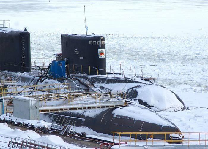 "Test du sous-marin ""Sarov"" projet 20120"