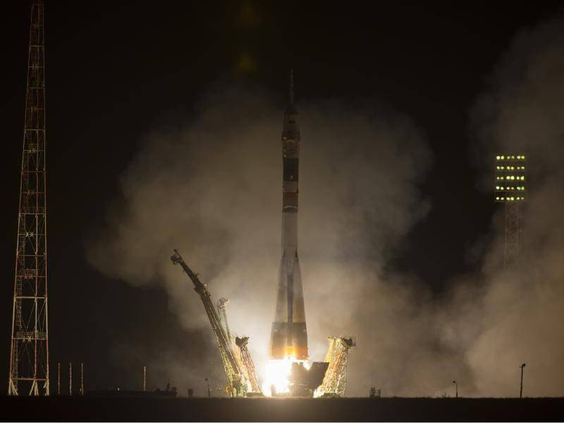 Soyuz reached the ISS 8 times faster than normal