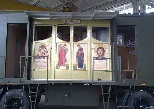Rus paraşütçüler hala şaşırtabilir: Ryazan yakınlarında bir uçak kilisesi açıldı