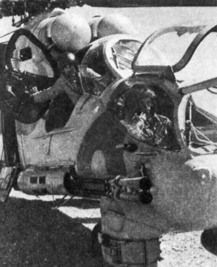 伝説の戦闘ヘリコプターMi-40(パート24)への11年戦闘ユニットでのマスタリング