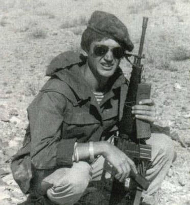 The author of the article. Afghanistan, October 1987. M16 in Afghanistan was exotic. Most of the military units of the military units of the 40 Army of General Arms preferred to go on combat missions with a 7,62-mm Kalashnikov assault rifle with a folding butt (AKMS)