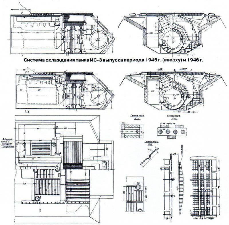 трансмиссии для танка ИС-3
