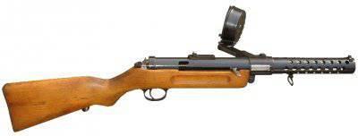 Первый пистолет-пулемет Шмайссера MP-18
