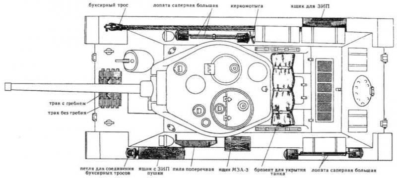 Модернизированные средние танки в послевоенный период. Танк Т-34-85 обр. 1960 г.