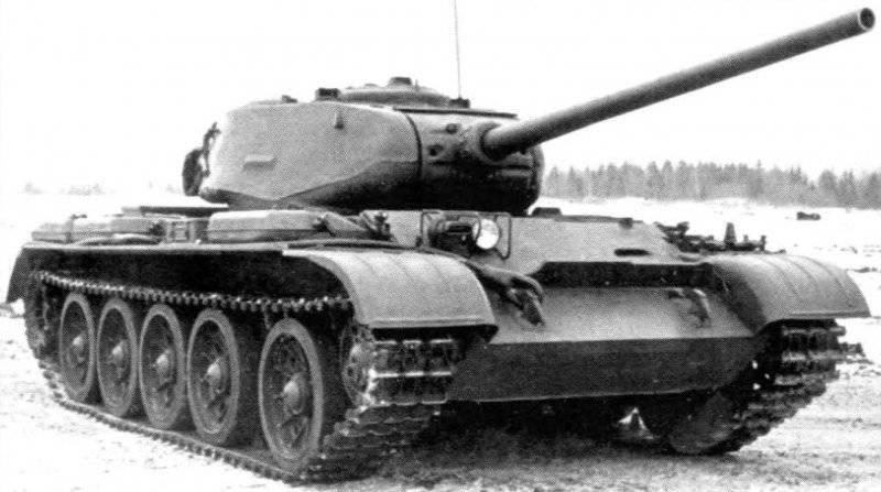 Модернизированные средние танки в послевоенный период. Танк Т-44М