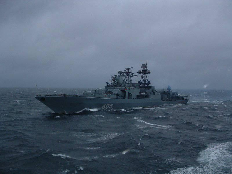 Большие противолодочные корабли ВМФ СССР