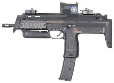 Пистолет-пулемет МР7 калибром 4,6 миллиметра
