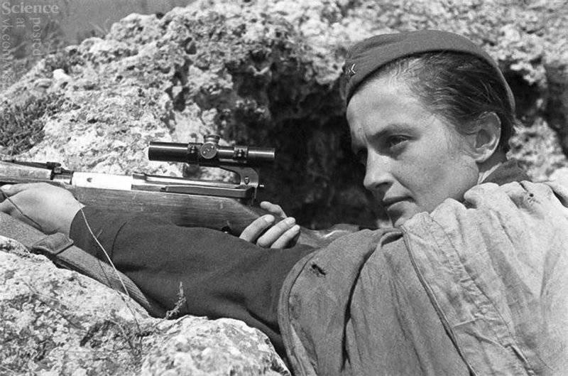 "Элеонора Рузвельт и cоветский снайпер (""Smithsonian"", США)"