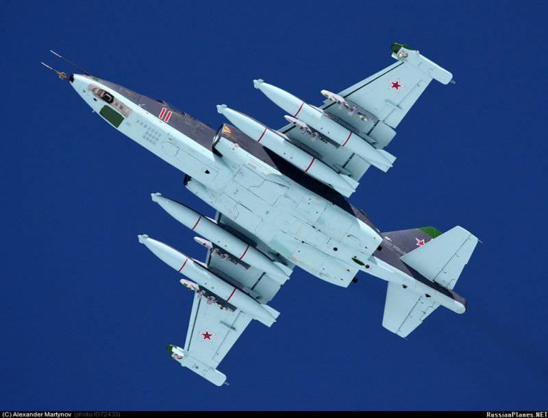 Первая партия штурмовиков Су-25СМ3 в количестве около десяти единиц поступила на вооружение авиабазы в Краснодарском...