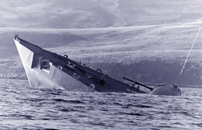 Гибель кораблей. Эпизоды Фолклендской войны