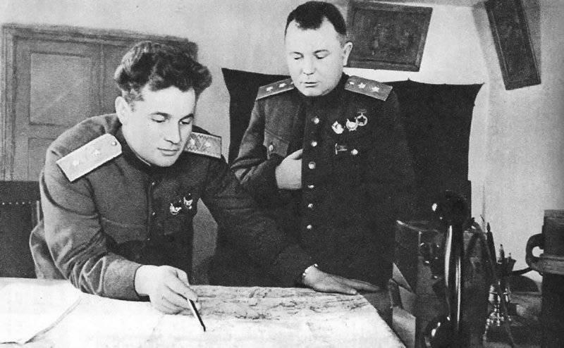 杰出的指挥官Ivan Chernyakhovsky