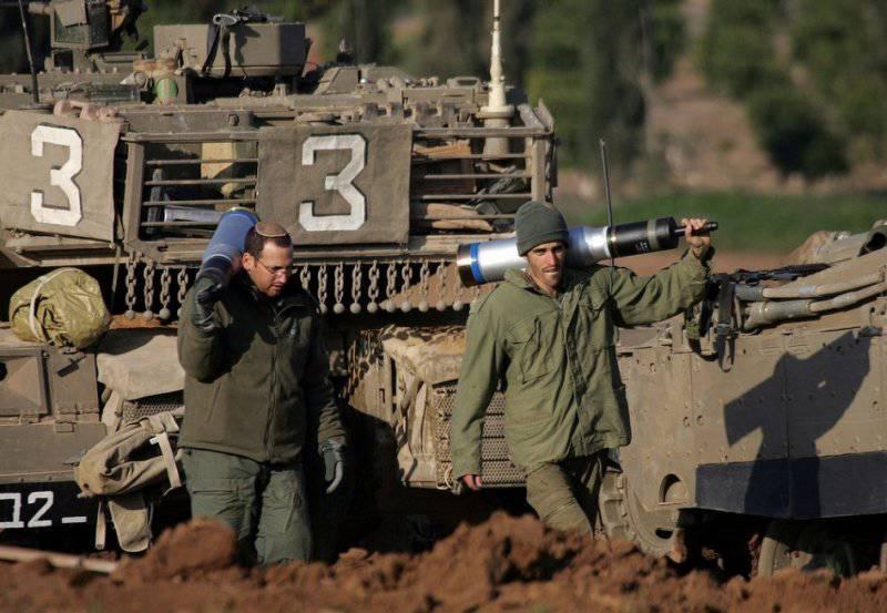Israel ya está revisando la concha HE-MR-T en la batalla. Fotos de www.oicpalestina.org