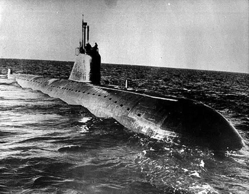 В честь дня подводника